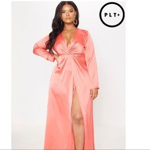 Coral Maxi Dress from PLT